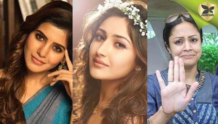நடிகை சமந்தா, ஜோதிகா தனது முன்னுதாரணமாம்! நடிகை சாயிசா திரைப்படங்களில் தான் தொடர்ந்து நடிப்பதற்கு